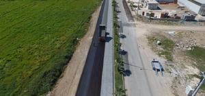 ASAT'tan Manavgat Bahçeşehir yoluna asfalt