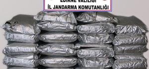 3 aydır takip ediliyorlardı, suçüstü yakalandılar Edirne'de dev uyuşturucu operasyonu: piyasa değeri tam 10 milyon 900 bin TL Uyuşturucu ticareti yapan çete çökertildi