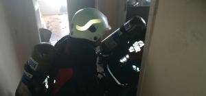 Malatya'da ev yangını korkuttu