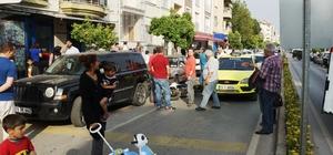 Aceleci yolcu zincirleme kazaya neden oldu: 1 yaralı