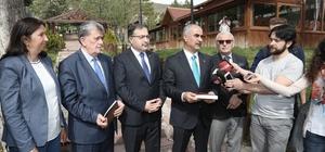 Başkan Aydın, devam eden projeleri anlattı