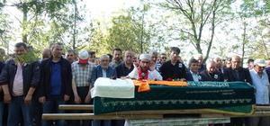Gazeteci Şentürk, son yolculuğuna uğurlandı
