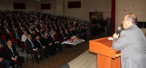 "Bitlis'te ""Din istismarı ile mücadele"" paneli"