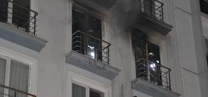 Kırıkkale'de öğrenci apartında yangın