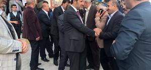 AK Parti heyetinden Şemdinli ziyareti