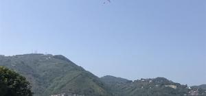 Boztepe'den yamaç paraşütü serbest Bir süre önce Sivil Havacılık Genel Müdürlüğü tarafından konulan yamaç paraşütü yasağı kalktı