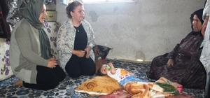Kemikleri cam gibi kırılan minik Hülya'ya yardım eli İHA'nın haberi sonrası harekete geçen Büyükşehir Belediyesi minik kızın ilaçlarının temin edilmesini sağlayacak