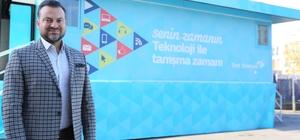 Türk Telekom Teknoloji Seferberliği Gezici Eğitim Tırı Adıyaman'a geliyor