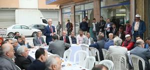 Başkan, Hürriyet Caddesi esnaflarıyla buluştu