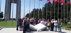 Üniversite öğrencilerinden Çanakkale gezisi