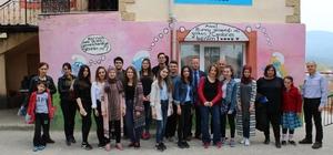 Burhaniye Anadolu Lisesi'nden kardeş okul ziyareti