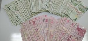 Yasa dışı bahisten kazandığı paraları çekerken yakalandı