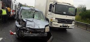Düzce TEM otoyolunda kaza: 1 ölü