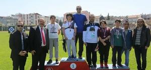 Okçular madalyalarını aldı Fatsa'da okul sporları okçuluk müsabakaları
