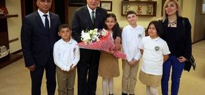Başkan Karaosmanoğlu, öğrencileri ağırladı