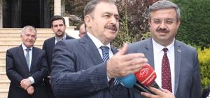 """Bakan Eroğlu, """"Baskın seçim değil erken seçim"""" """"Biz hazırız, AK Parti hazır"""" """"CHP hodri meydan diyordu"""""""