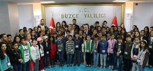 Hakkari'den gelen öğrenciler Düzce'yi gezdi