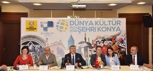 """""""Dünya Kültür Pilot Şehri Konya"""" toplantısı yapıldı"""