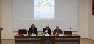 ERÜ'de 'Turizmde Yeni Trendler ve Beklentiler' konulu söyleşi düzenlendi