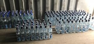Van'da kaçak alkollü içecek operasyonu