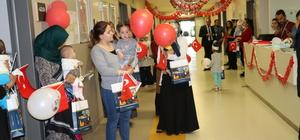 Yozgat Şehir Hastanesi'nde 23 Nisan kutlaması