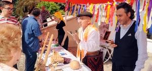 Erdemli'de yörük kültürü tanıtım stantlarına yoğun ilgi
