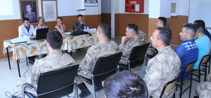 Jandarma personeline seminer