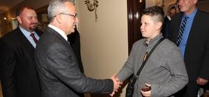 Başkan Köşker, Bosna Hersekli öğrencileri ağırladı