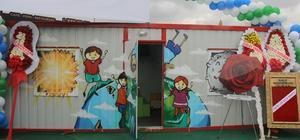 Kocaelili iş adamlarından Suriyeli çocuklara oyun ve etkinlik evleri Projeye belediye başkanlarından destek geldi