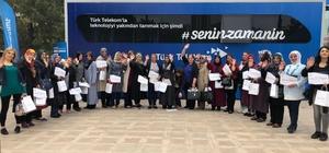 Türk Telekom Teknoloji Seferberliği, Malatyalı kadınlarla buluştu