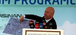 """""""Kentsel dönüşüm oturulacak yerden eleştirilecek hizmet değil"""" Kocasinan Belediye Başkanı Ahmet Çolakbayrakdar: """"Dönüşümle Kocasinan daha da güzelleşecek"""""""