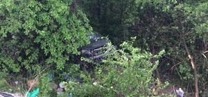 Karabük'te otomobil şarampole uçtu: 5 yaralı