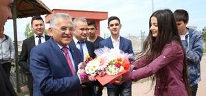 Büyükkılıç, Şehit Saim Çelik Mesleki ve Teknik Anadolu Lisesi'nin Kariyer Günleri Konuğu Oldu