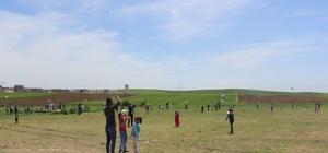 Göçeri Köyü ilkokulunda uçurtma şenliği yapıldı