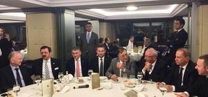 Başkan Albayrak, TOBB'un tanışma yemeğine katıldı