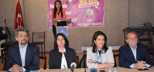 HDP Eş Genel Başkanı Buldan Kocaeli'de