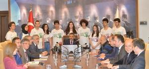 """""""Şiddet ve Sosyal Travmalar Uluslararası Kongresi"""" Samsun'da yapılacak Samsun Valisi Osman Kaymak: """"Kongrede 447 bilim adamı 254 bildiri sunacak"""""""