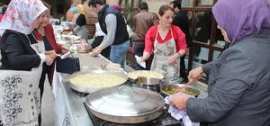 Kastamonu'nun lezzetleri 600 yıllık handa yarıştı