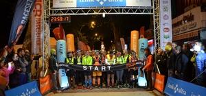 İznik Ultra Maratonu'nda 140 kilometrelik koşu başladı