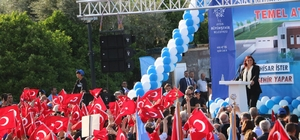 Başkan Çerçioğlu, Sultanhisar Spor ve Sosyal Tesislerinin temelini attı