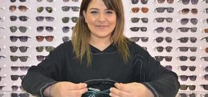 """Uzmanlardan sahte gözlük uyarısı Gözlükçü Tuğçe Kılıç: """"Sahte güneş gözlüğü takmak yerine hiç takmamak daha iyidir"""" """"Sağlığınız güneş gözlüğünüzden daha değerlidir"""""""