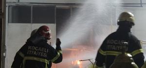 Gaz dolum fabrikasında yaşanan patlama paniğe neden oldu Patlama sonrasında çıkan yangın 1 saat sonra söndürülebildi