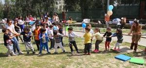 Çocuklar sokak oyunlarıyla tanıştı