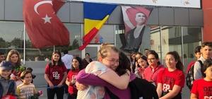 Değişim Koleji Romanyalı çocukları ağırladı