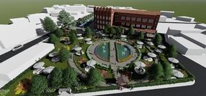 Belediye parkı yeni görünümüne kavuşmaya hazırlanıyor