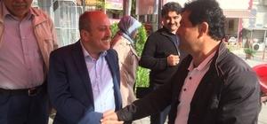 Kargı'da seçim startını Karadağ verdi