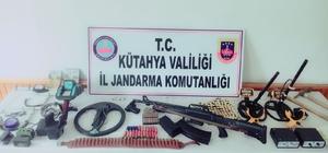 Hisarcık'ta izinsiz kazı yapan 2 kişi yakalandı