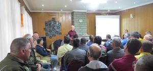 Biga'da yangın eğitim semineri verildi