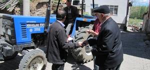 Hisarcık'ta şükür duası için hazırlıklar başladı