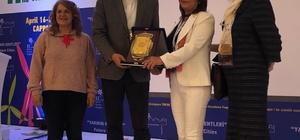 2. Uluslararası Şehir Çevre Sağlık Kongresi'nde Söke Belediyesine ödül